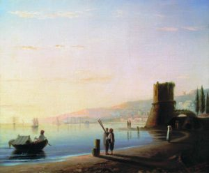 Пристань в Феодосии